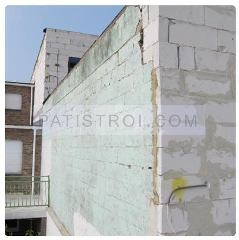 стената преди саниране