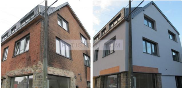 Саниране на къща - преди и след